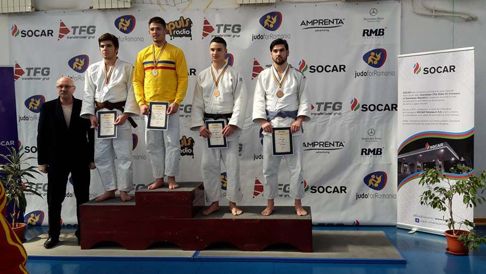 judo alban bronz