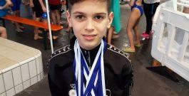 ÎNOT | Medalii pentru micuții înotători în Germania