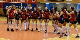 VOLEI, Divizia A1 (feminin)| Știința Bacău are speranțe mari în privința duelului cu CSM Lugoj